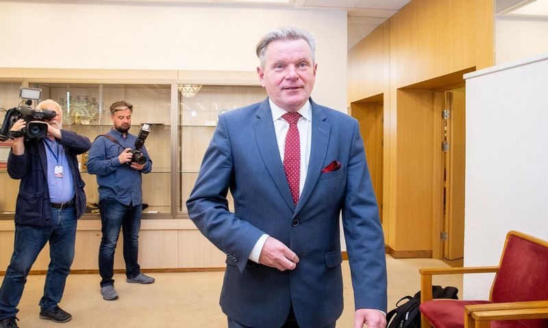 Susisiekimo ministras J. Narkevičius. Juditos Grigelytės (VŽ) nuotr.