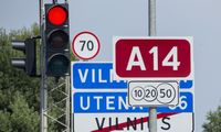 Kelyje Vilnius-Utena netrukus bus leidžiamas eismas naujai rekonstruotu ruožu