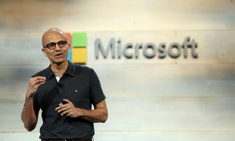 "Satya Nadella, ""Microsoft"" generalinis direktorius. Roberto Galbraitho (""Scanpix""/""Reuters"") nuotr."