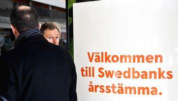 """Švedija sprendžia dėl sankcijų """"Swedbank"""": gresia iki 410 mln. Eur bauda"""