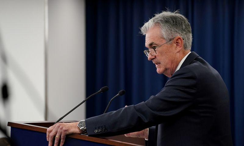 """Jerome'as Powellas, JAV Federalinio rezervų banko (FED) vadovas. Sarah Silbiger (""""Reuters"""" / """"Scanpix"""") nuotr."""