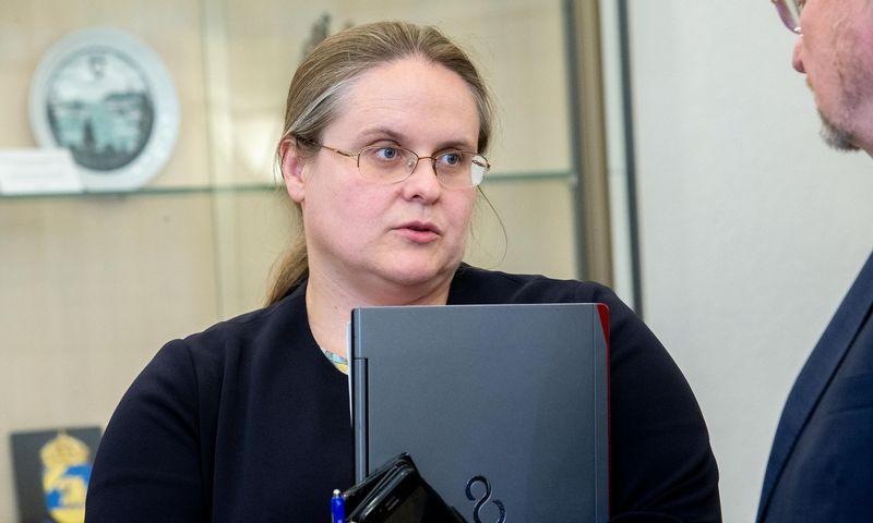 Agnė Širinskienė, Seimo Teisės ir teisėtvarkos komiteto pirmininkė. Juditos Grigelytės (VŽ) nuotr.