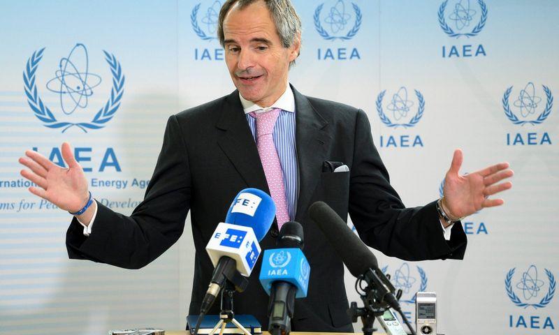 """Naujasis TATENA vadovas Rafaelis Mariano Grossi. Joe Klamar (AFP/""""Scanpix"""") nuotr."""
