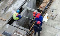 Vilniaus kogeneracinės jėgainės statybvietėje nukritus sijai sužalotas darbininkas