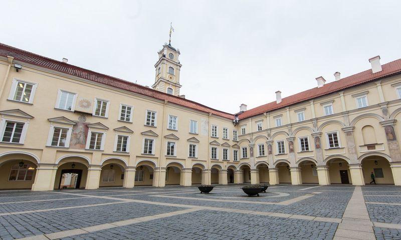 """Vilniaus universitetas. Luko Balandžio (""""15min"""") nuotr."""