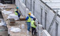Statybos pasitikėjimo rodiklis krito8 proc. punktais