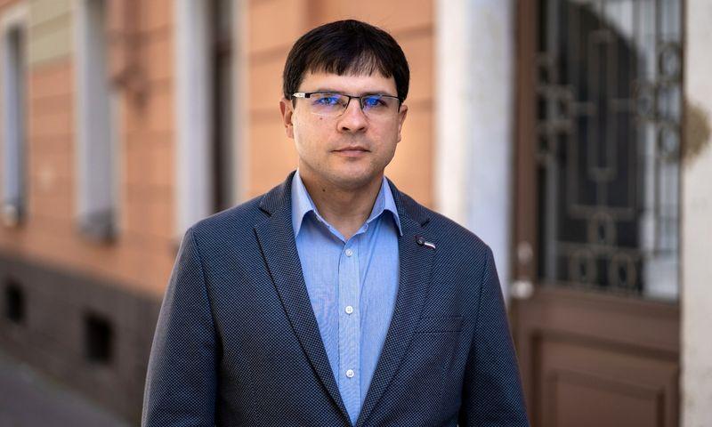"""Darius Černeckis, """"Rand Software OÜ"""" pardavimų direktorius Baltijos šalyse."""