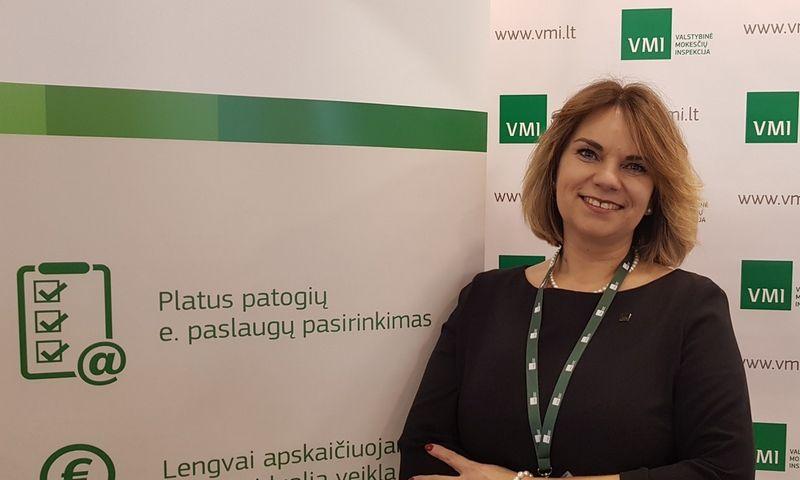 Virginija Ginevičienė, Vilniaus apskrities VMI viršininkė. VMI nuotr.