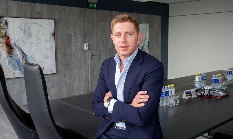 """Mindaugas Strėlis, FMĮ """"Orion Securities"""" Gerovės valdymo skyriaus vadovas. Juditos Grigelytės (VŽ) nuotr."""