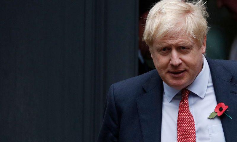 "Borisas Johnsonas, JK premjeras. Adriano Denniso (AFP / ""Scanpix"") nuotr."