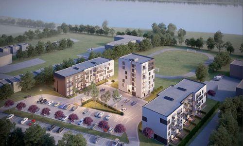 Kaune, netoli Nemuno, planuojama trijų daugiabučių statyba