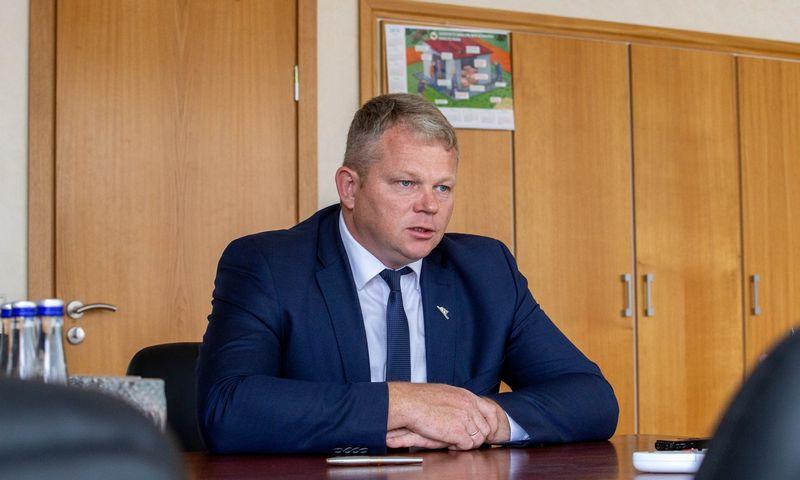 Andrius Palionis, žemės ūkio ministras. Juditos Grigelytės (VŽ) nuotr.
