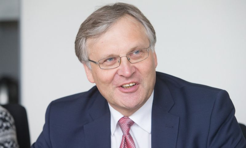 Dr. Artūras Žukauskas, Vilniaus universiteto rektorius. Juditos Grigelytės (VŽ) nuotr.