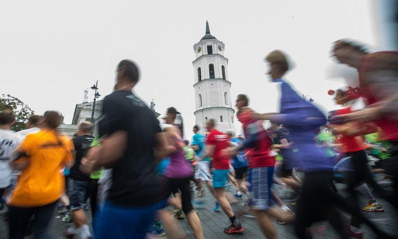 Bėgioti nors kartą per savaitę yra geriau nei visai nebėgioti. Juditos Grigelytės (VŽ) nuotr.