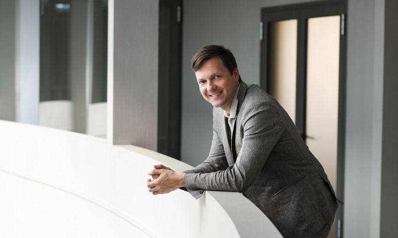 """Linas Armalys, UAB """"Noviti"""" direktorius: """"Noviti finance"""" finansavimo paslaugą įmonė gali išbandyti ir nemokamai– pasiskolinti pinigų vienam mėnesiui nieko nekainuoja."""""""