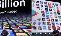 """""""Google Play"""" ir """"Apple App Store"""" žmonės per ketvirtį išleido 22 mlrd. USD"""