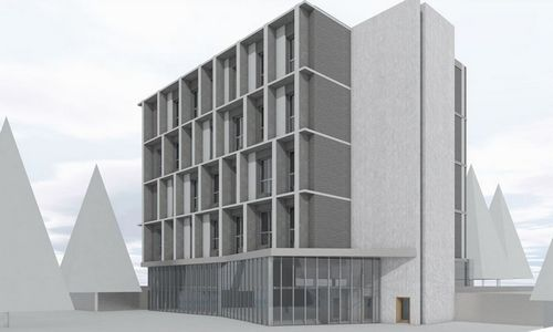 """""""Conrestos statyba"""" investuoja į bendrabutį Vilniaus Saulėtekyje"""
