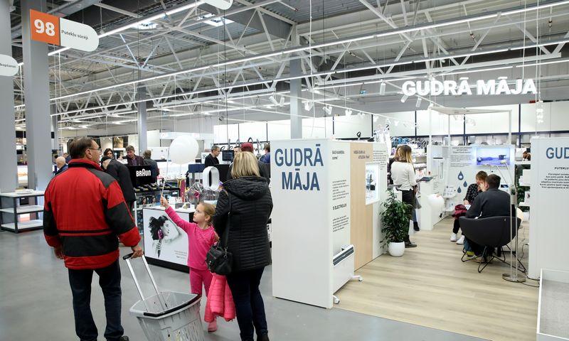 Prekybos centras Rygoje. Bendrovės nuotr.