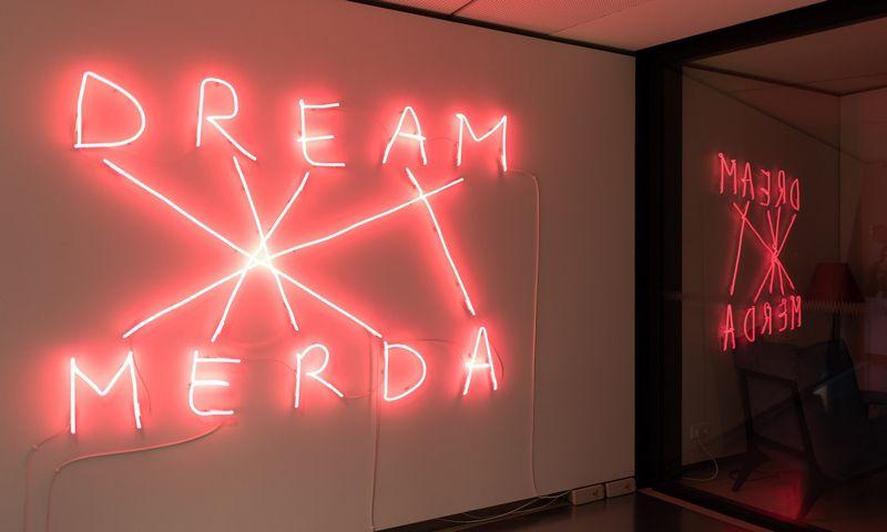 """Nico Vascellari """"Dream Merda"""". Nendrės Žilinskaitės/Mo muziejaus nuotr."""