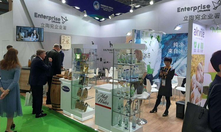 """Lietuvos eksportuotojai atsiveriančią Kinijos rinką užkariauja parodoje """"China International Import Expo 2019"""""""
