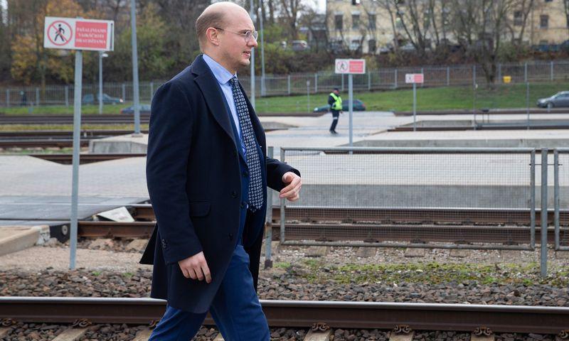 """Ignas Degutis, """"RB Rail"""" vyriausiasis finansininkas ir valdybos narys. Vladimiro Ivanovo (VŽ) nuotr."""