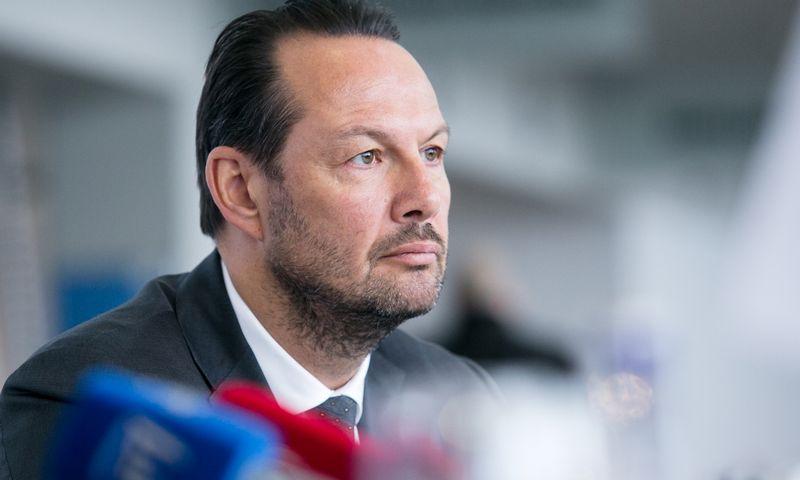 """Tomas Kučinskas, """"Parket Trade"""" valdybos pirmininkas. Luko Balandžio (""""15min"""") nuotr."""