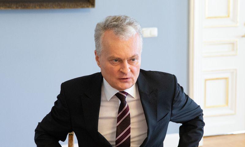 Gitanas Nausėda, LR Prezidentas. Vladimiro Ivanovo (VŽ) nuotr.