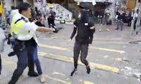 Šūviai Honkonge ženklina didesnės įtampos etapo pradžią