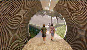 Vilniuje suplanavo pėsčiųjų tunelį po geležinkeliu