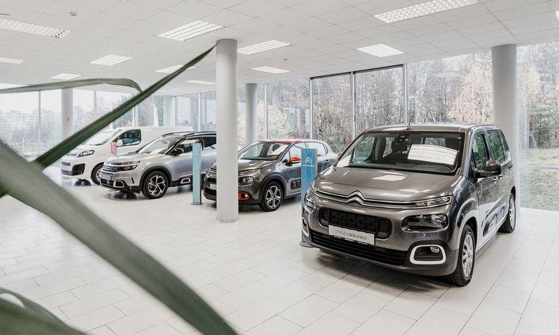 """Naujasis """"Citroen"""" salonas dalinsis vienu stogu su """"Opel"""" atstovybe. Įmonės nuotr."""