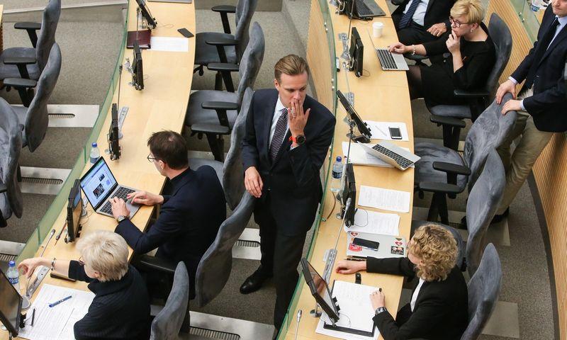 Didžiausią dotaciją VRK šiemet antrąjį pusmetį skyrė Tėvynės sąjungos-Lietuvos krikščionių demokratų partijai.  Vladimiro Ivanovo (VŽ) nuotr.