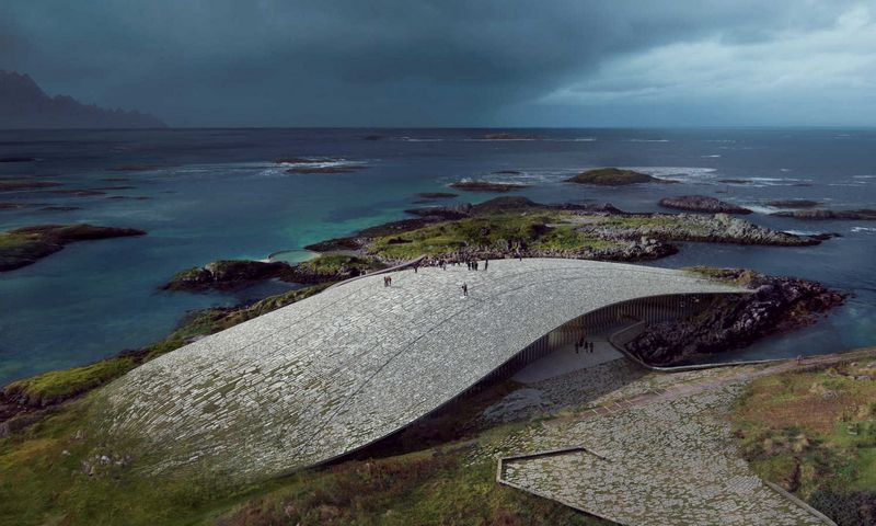 """The Whale"" projektavo danų architektės Dorte Mandrup komanda. dortemandrup.dk nuotr."