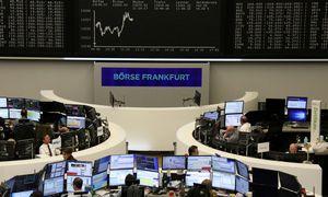Europos biržose nuotaikos pakilios
