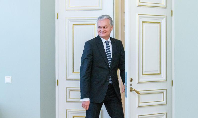 Prezidentas Gitanas Nausėda per pastaruosius keturis mėnesius yra vetavęs šešis Seimo priimtus įstatymus. Juditos Grigelytės (VŽ) nuotr.