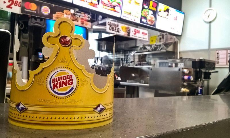 Burger King kavinė. Vladimiro Ivanovo (VŽ) nuotr.