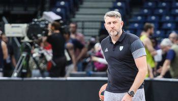 Vyrų krepšinio rinktinei vadovaus D. Maskoliūnas