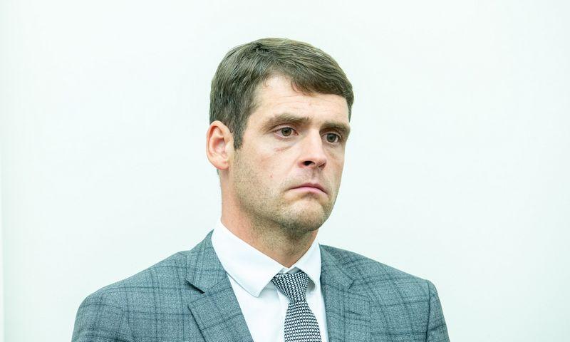 Seimo narys, Tvarkos ir teisingumo partijos pirmininkas Remigijus Žemaitaitis. Juditos Grigelytės (VŽ) nuotr.
