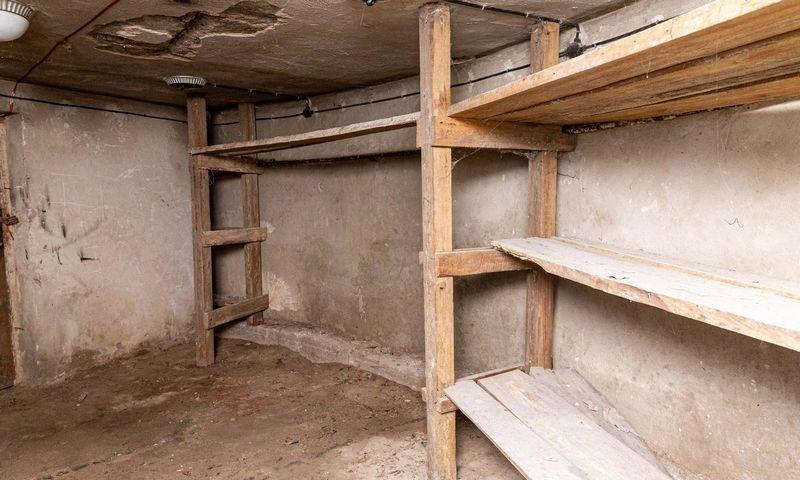 Po griaunamais Profsąjungų ir kultūros rūmais Vilniuje rastas bunkeris. Juditos Grigelytės (VŽ) nuotr.