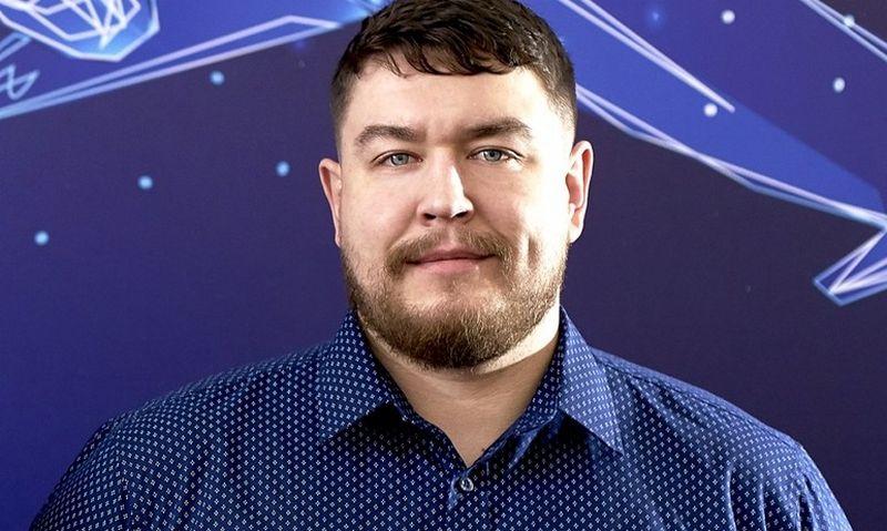 """""""AsstrA"""" Dalinių krovinių skyriaus vadovas Justas Cibulskas."""