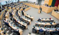 Seimo pirmininkas su frakcijų atstovais sutarė: R. Žemaitaičio vieta liks tuščia