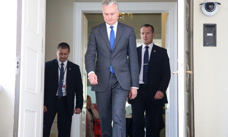 Prezidentas Gitanas Nausėda pažėrė pasiūlymų kitų metų biudžetui, bet Vyriausybė ir Seimas neskuba jiems pritarti. Vladimiro Ivanovo (VŽ) nuotr.