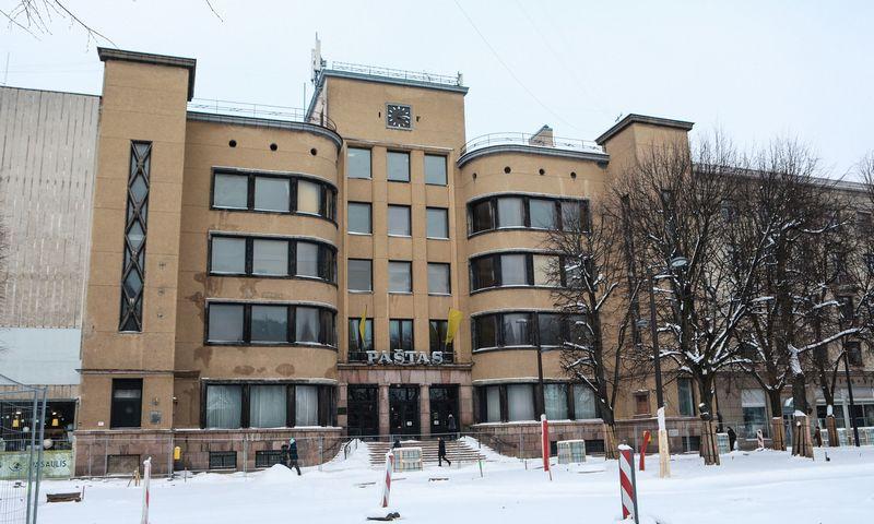 """Kauno centrinis paštas. Eriko Ovčarenko (""""15min"""") nuotr."""