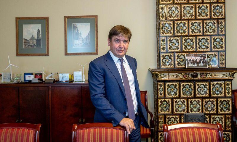 """Žygintas Mačėnas, investicinės bankininkystės UAB """"Summa Advisers"""" vadovaujantis partneris. Juditos Grigelytės (VŽ) nuotr."""