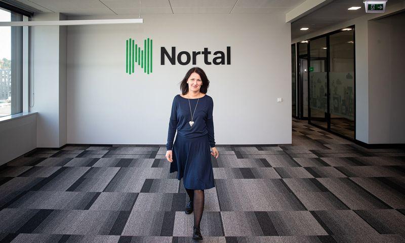 """Kristina Berulienė, IT UAB """"Nortal"""" personalo vadovė, sutinka, kad konkurencija dėl talentų rinkoje nuožmi ir kaskart verčia ieškoti būdų, kaip prisivilioti į komandą profesionalų. Vladimiro Ivanovo (VŽ) nuotr."""