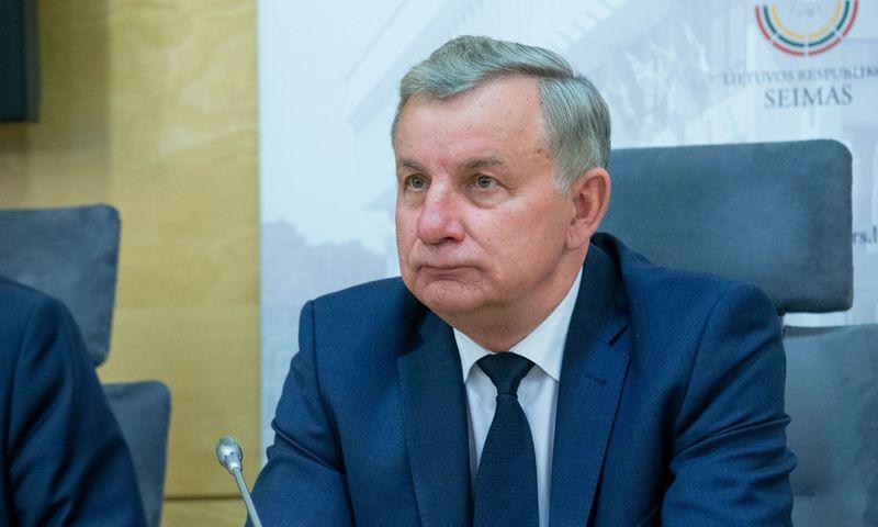 """Rimantas Sinkevičius, Seimo Ekonomikos komiteto pirmininkas, tikino iš premjero išgirdęs, kad """"Problematika"""" privatizuojama nebus. Juditos Grigelytės (VŽ) nuotr."""