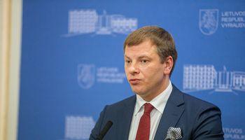 """V. Šapoka: būtų blogai, jei """"Ignitis grupės"""" IPO darytume be delistingavimo"""