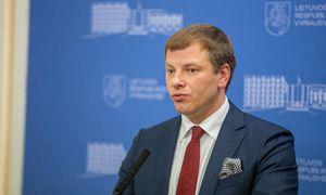 """V. Šapoka: mane galėtų pasodinti, jei """"Ignitis grupės"""" IPO darytume be delistingavimo"""