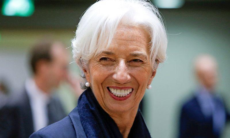 """Naujoji ECB prezidentė Christine Lagarde. Aris Oikonomou (AFP / """"Scanpix"""") nuotr."""