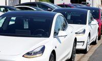 """Kinų žiniasklaida: kiniškas """"Tesla Model 3"""" – geresnis už amerikietiškąjį"""