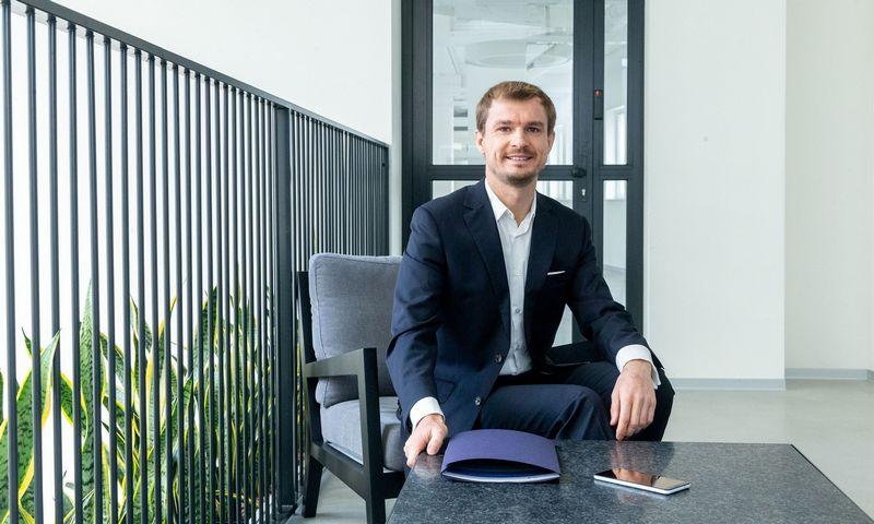 """Vitalijus Šostak, finansų patarėjų UAB """"Genus Family Office"""" investicijų strategas. Juditos Grigelytės (VŽ) nuotr."""